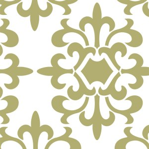 Parisian Medallion Stencil Pattern by SOLM Designs