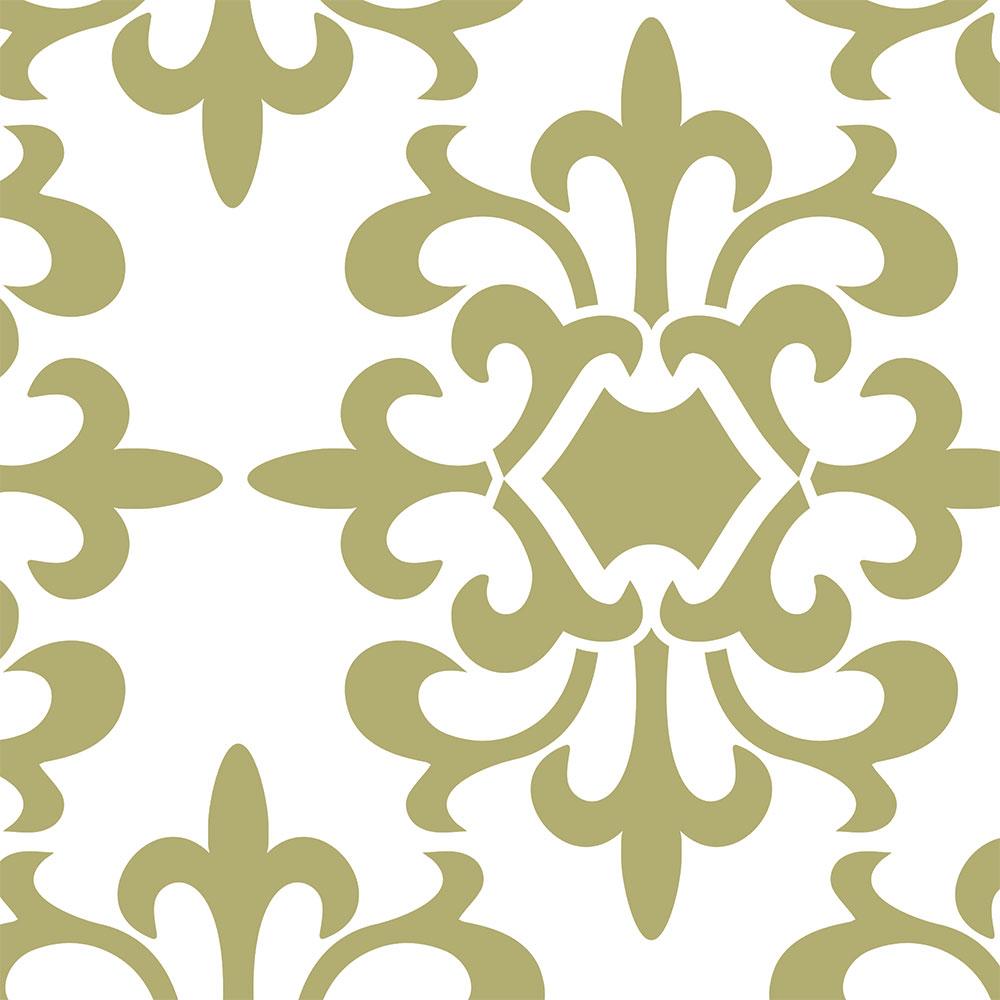 Parisian Medallion Stencil Pattern By SOLM Designs